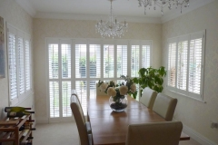 Z frame shutters fitted on doors and window