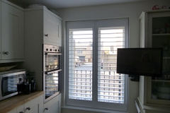 Full Height Shutters Fitted in Kitchen