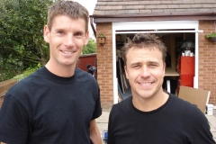 Sam and Craig Phillips on the Huddersfield 60min makeover show