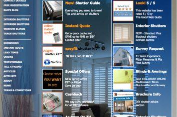 New shutter website goes live