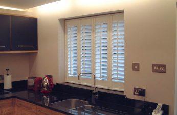 Kitchen window shutters
