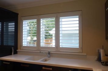 Waterproof shutters – kitchen & bathroom