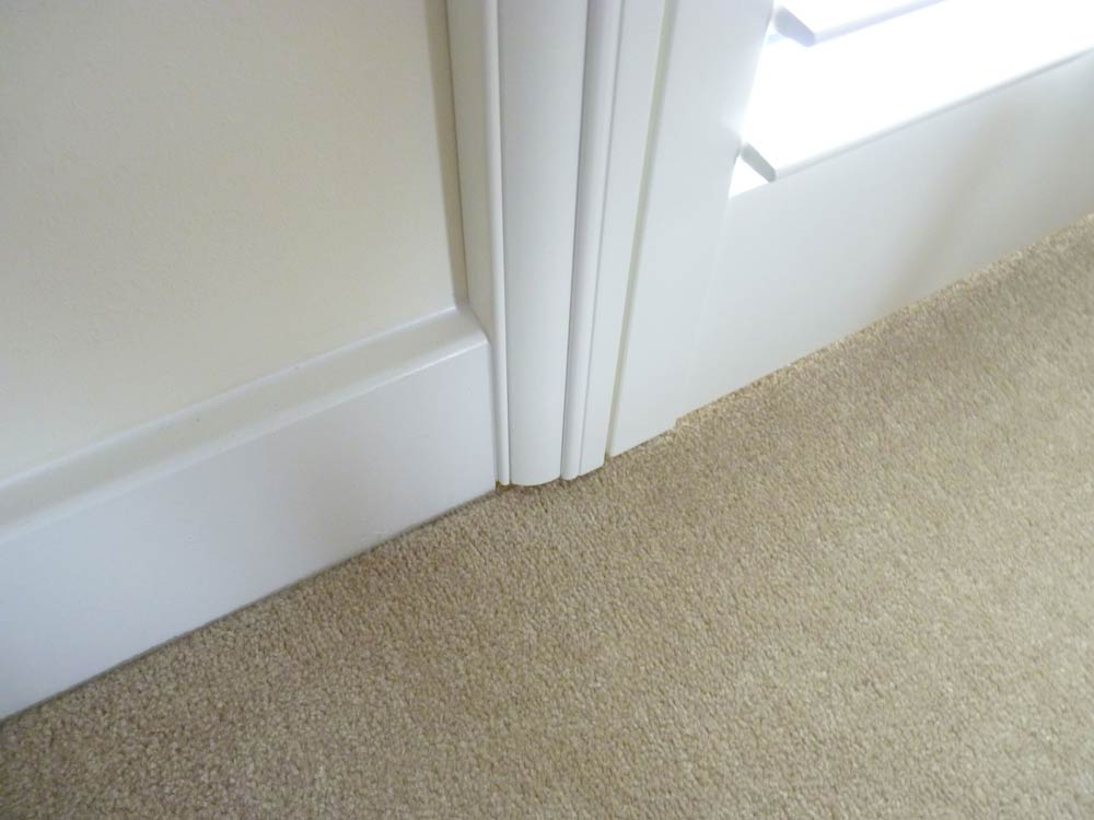 Deco plus skirting board close up