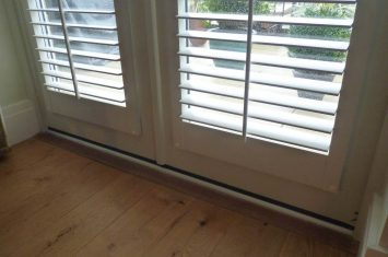 DIY Shutters without frames