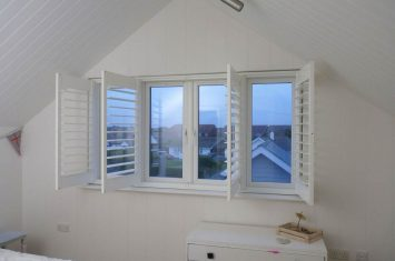 Can you attach shutters to UPVC