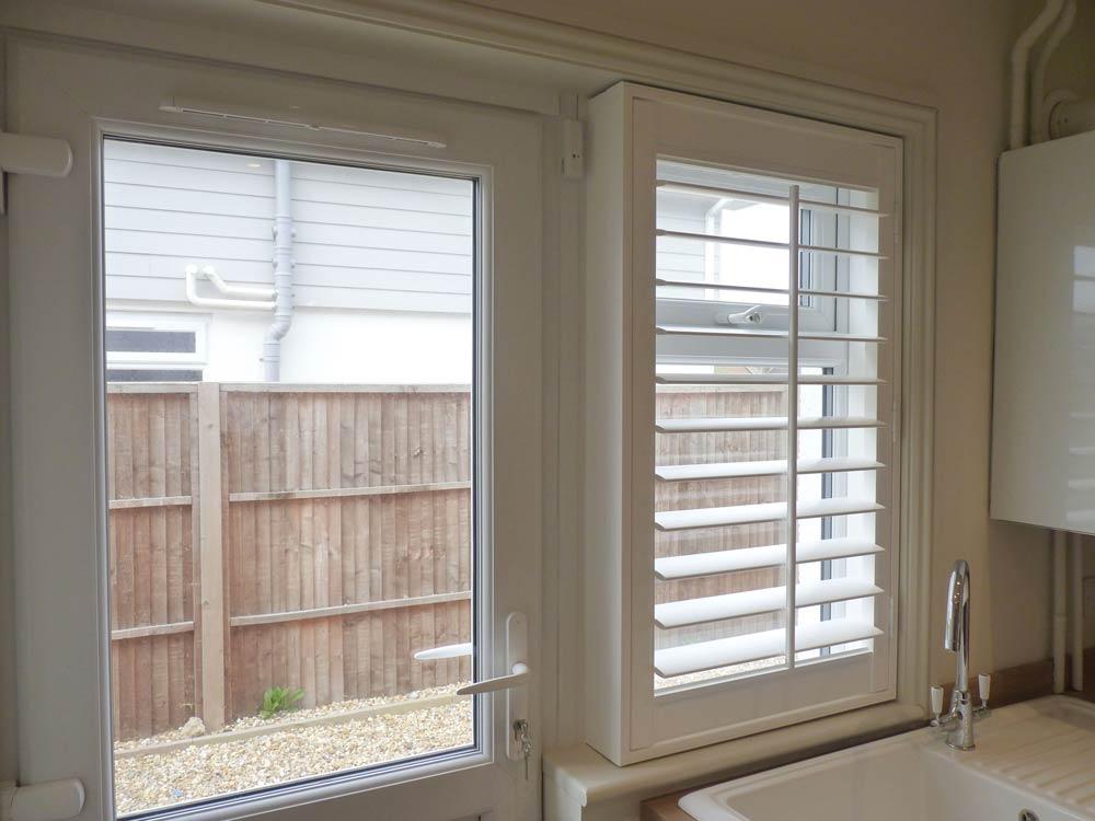 Utility room window