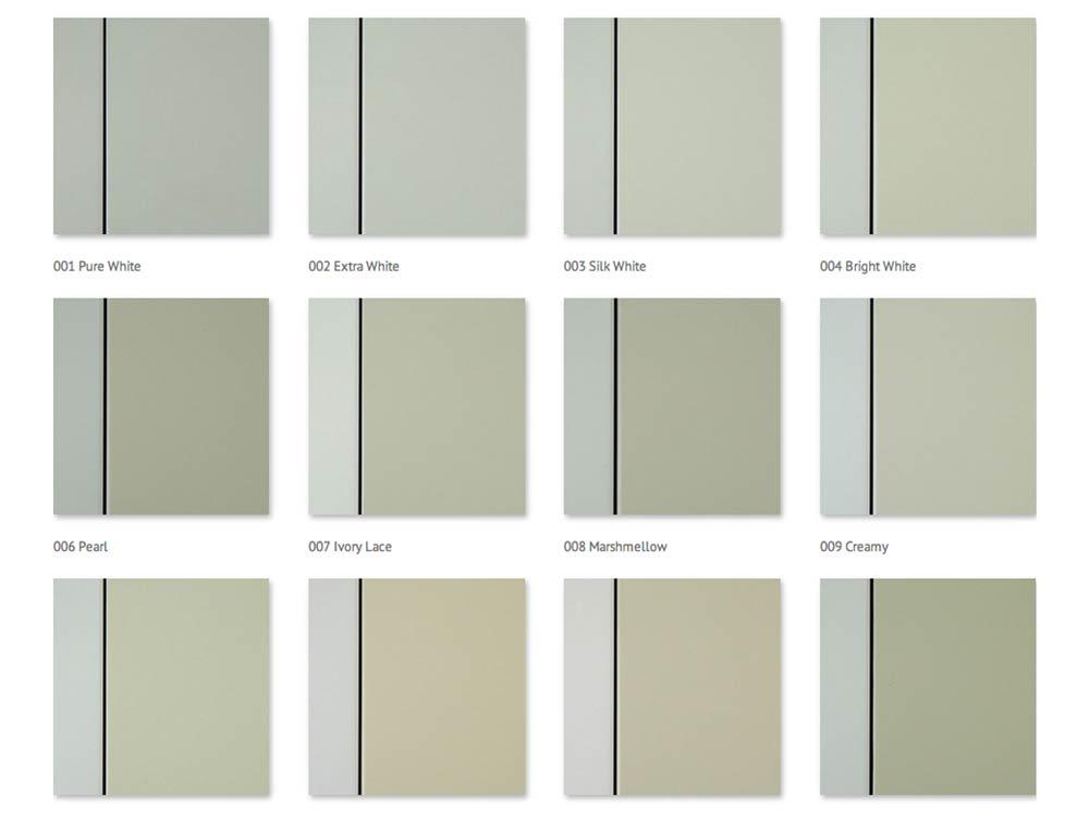 Scraft colour range