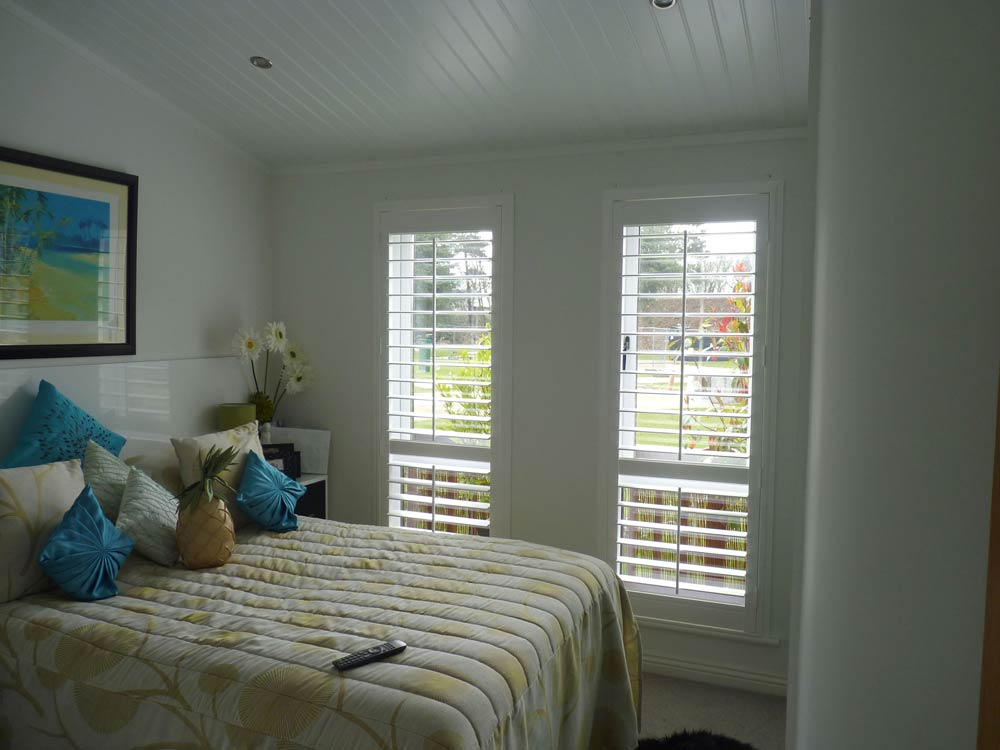 Vinyl Z frame fitted on two bedroom windows