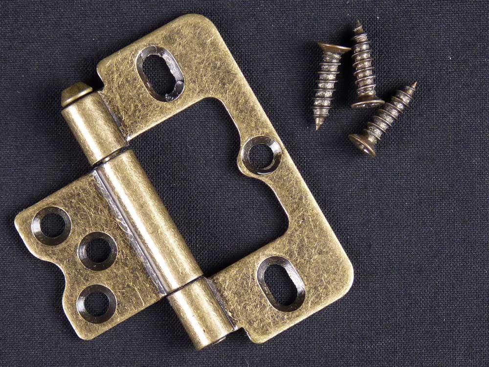 Antique Brass Shutter Hinge