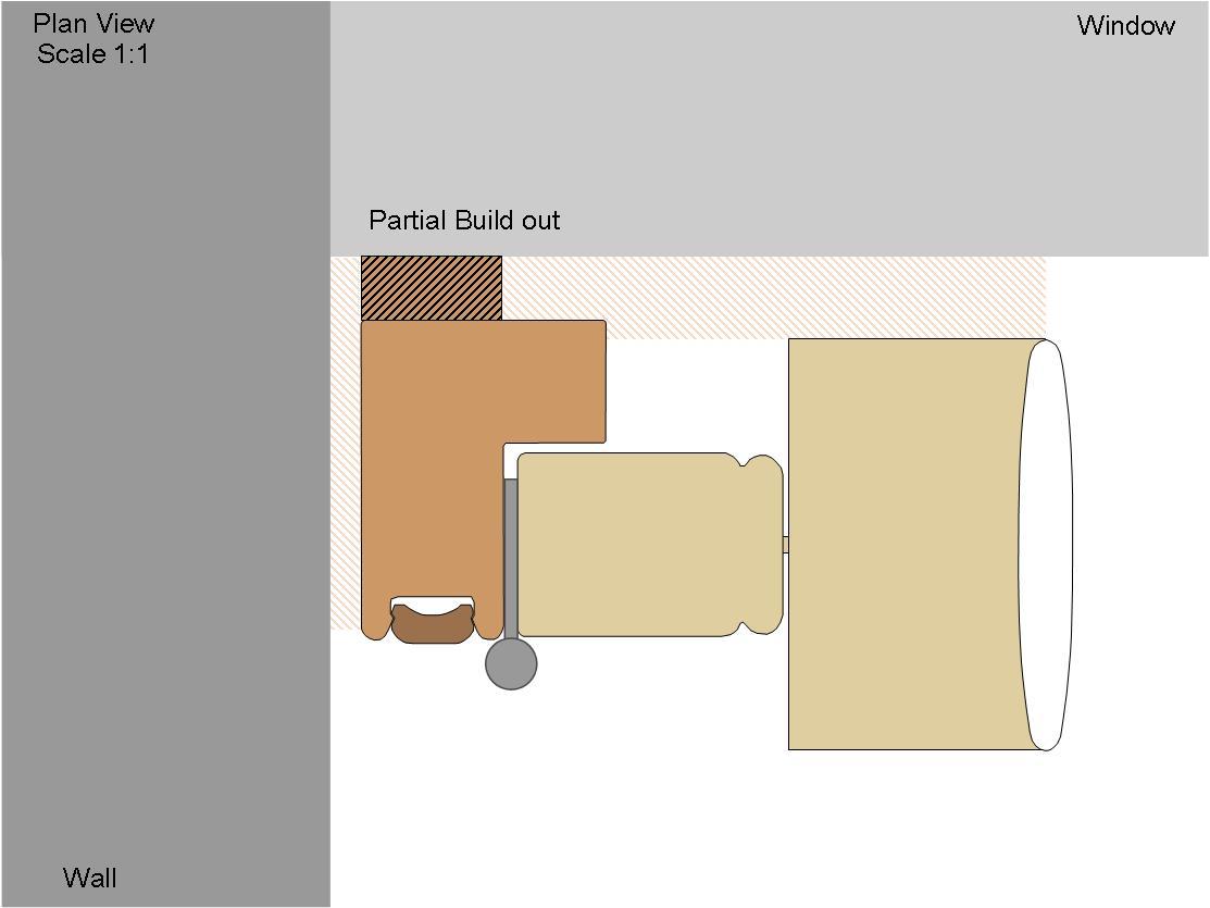 Partial L Frame Buildout