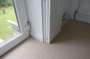 Measure inward opening windows
