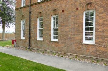 Interior wooden window shutters colour