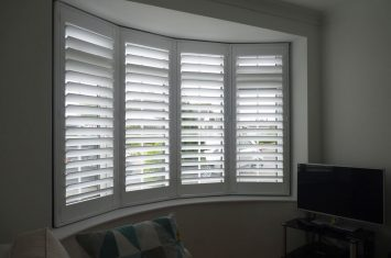 New video posted on bay window shutters