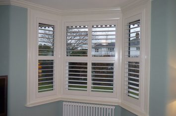 Compare shutter louvres and blind slat sizes