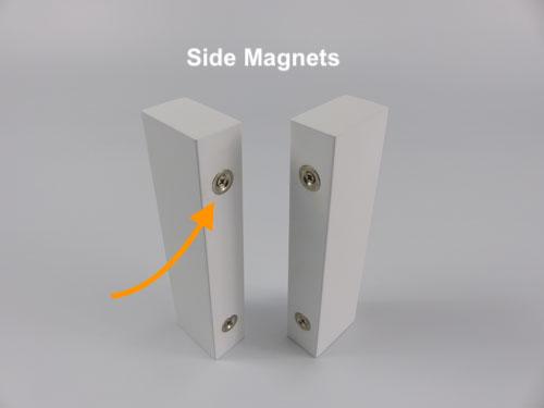 Shutter Side Magnets with Butt Stile