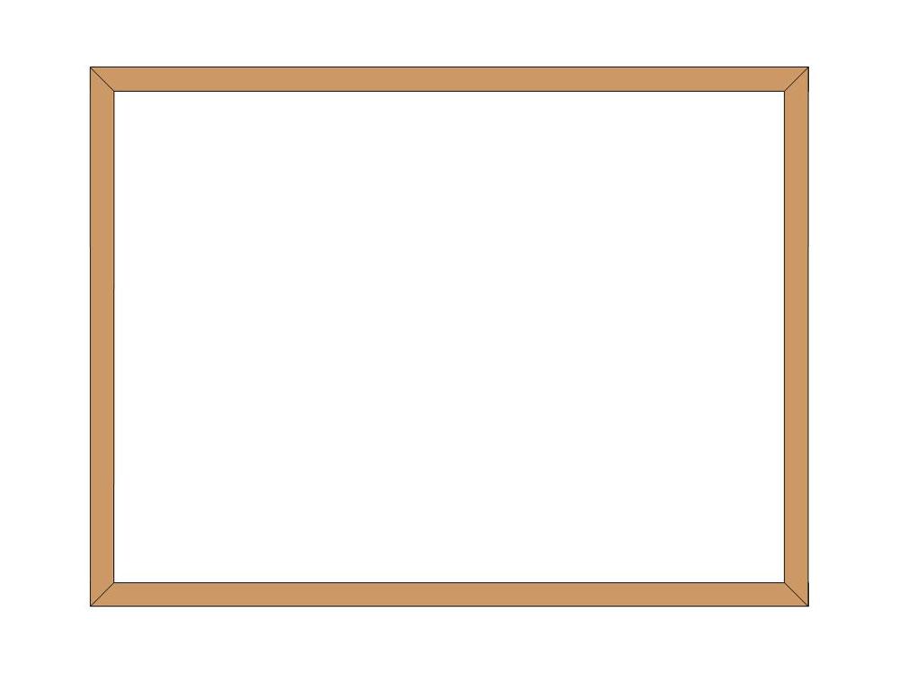 4 sided shutter frame