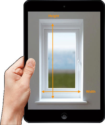 Quick Quote Shutters Ipad