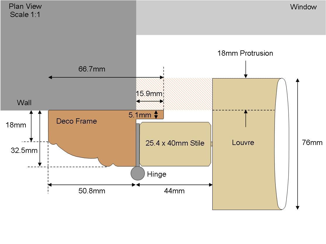 Camber Deco frame (Plain)
