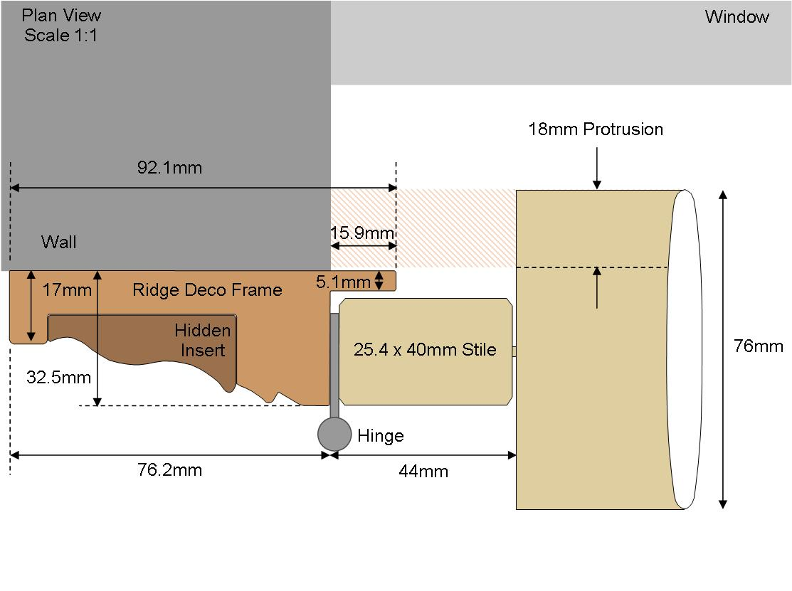 Ridge Deco Frame