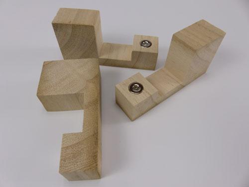 3 Shutter Spacing Blocks