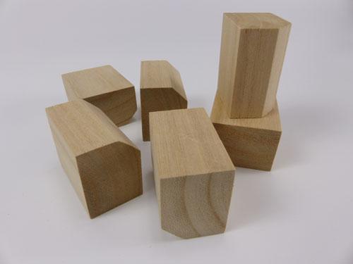 Chamfered Spacing Blocks