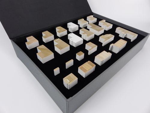 Open Sample Frame Case