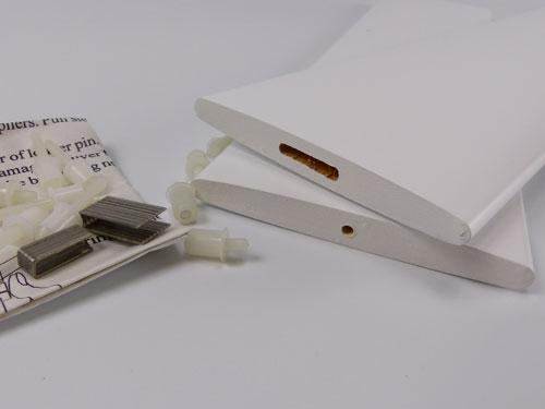 Replacement shutter louvre blades