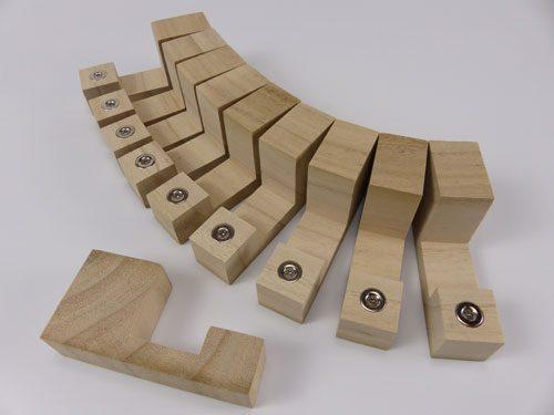 Shutter Spacing Blocks