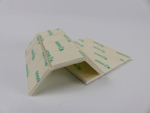 Shutter insert double sided-tape