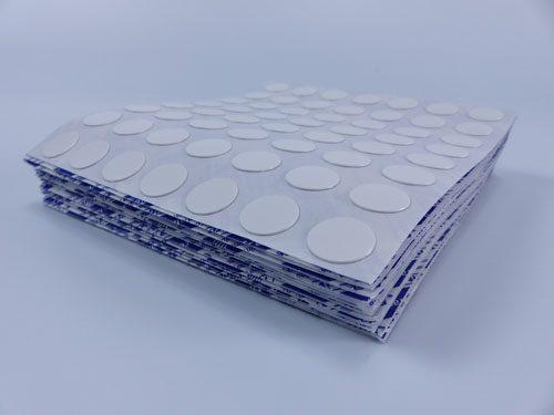 White cover cap pile